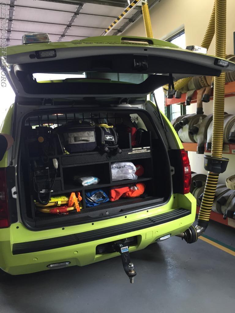 Squad 48/QRS 48 stocked with lifesaving equipment