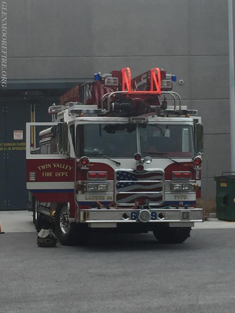 Ladder 69 waiting for its next call.