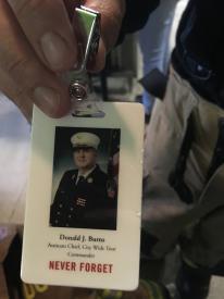 FDNY Assistant Chief Donald J. Burns