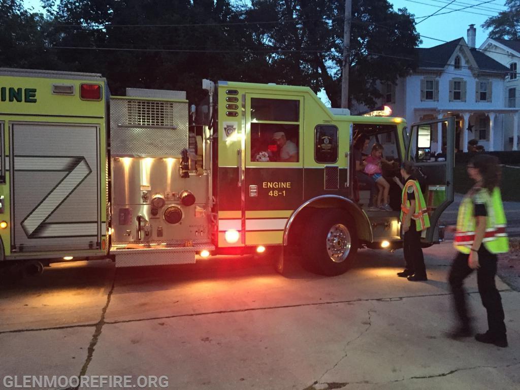 Fire Truck rides!