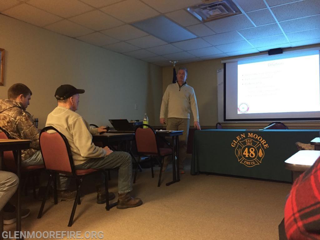 Jim Kettler giving his presentation.